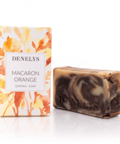 Macaron-Orange-bio-natur-szappan-Denelys
